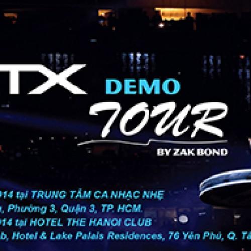 Demo trống điện DTX của Yamaha