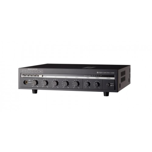 Amply Mixer 360W kèm bộ chọn 5 vùng loa Toa A-1360SS AS