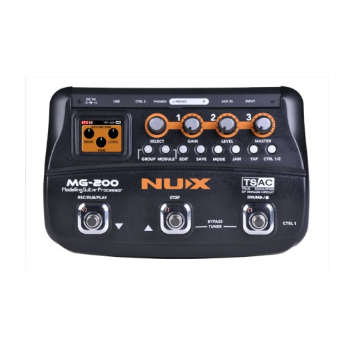 Multi Effect Pedal NUX MG-200