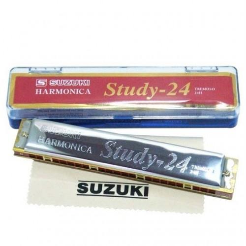 Harmonica Suzuki tremolo 24 lỗ