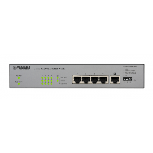 YAMAHA NETWORK SWITCH SWR2100P-5G