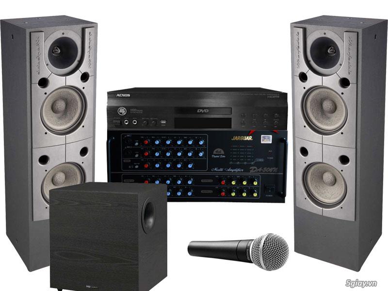 Hệ thống thiết bị âm thanh cao cấp quận 10