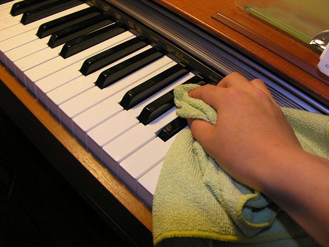 Những cách vệ sinh đàn piano hiệu quả